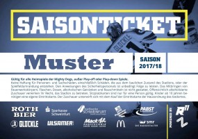 Saisonticket Stehplatz normal